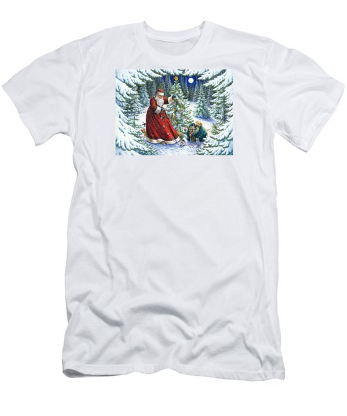 Santa's Little Helpers Men's T-Shirt (Athletic Fit)