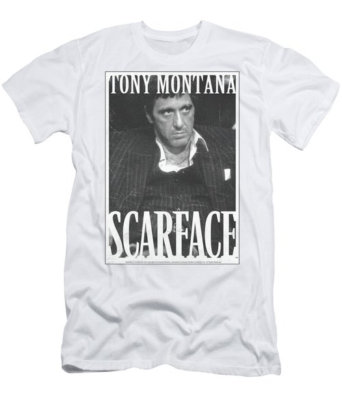 Scarface - Business Face Men's T-Shirt (Athletic Fit)