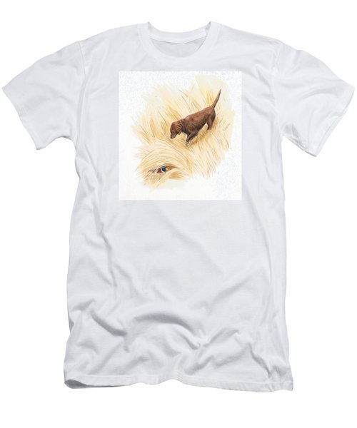 Scenting Pheasant Men's T-Shirt (Athletic Fit)
