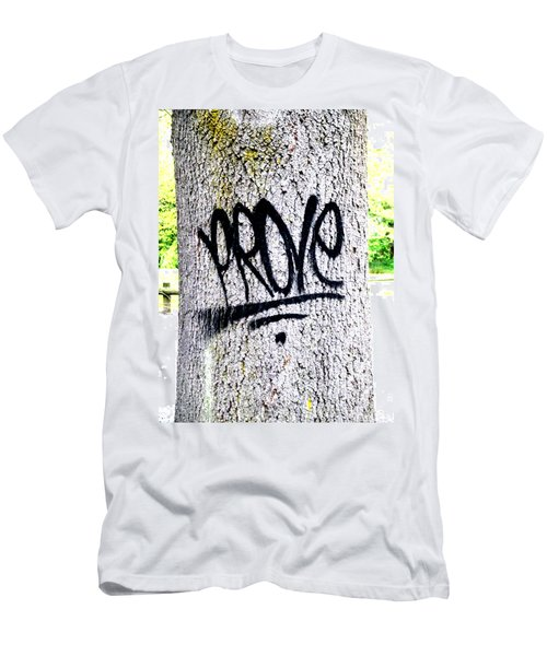 Scientific Graffiti  Men's T-Shirt (Athletic Fit)