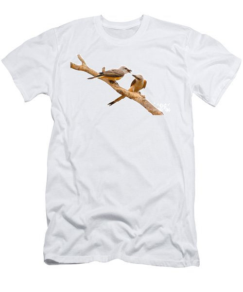 Scissortails Sharing Cricket Men's T-Shirt (Athletic Fit)