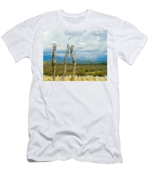 Sculpture In The Andes Men's T-Shirt (Athletic Fit)