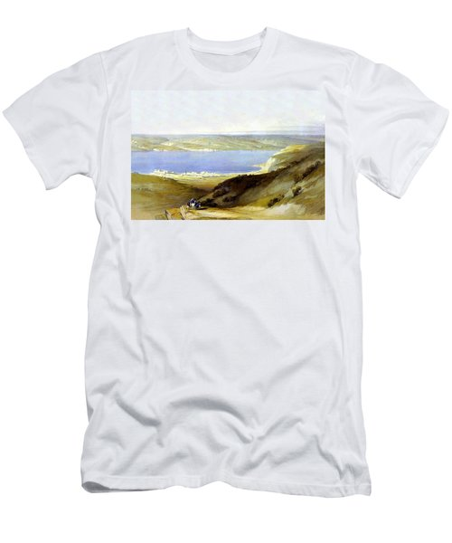 Sea Of Galilee Men's T-Shirt (Athletic Fit)