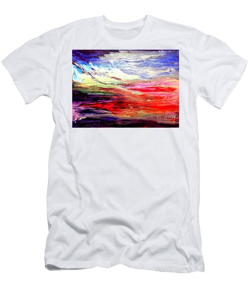 Sea Sky I Men's T-Shirt (Slim Fit) by Karen  Ferrand Carroll