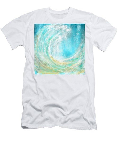 Seascapes Abstract Art - Mesmerized Men's T-Shirt (Athletic Fit)