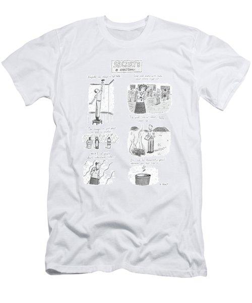 Secrets Of Adulthood Men's T-Shirt (Athletic Fit)