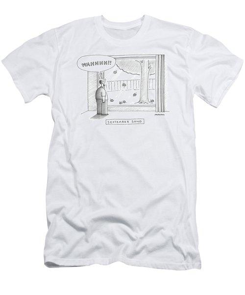 September Song Men's T-Shirt (Athletic Fit)