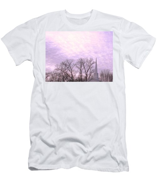 Men's T-Shirt (Slim Fit) featuring the photograph Serenity by Pamela Hyde Wilson