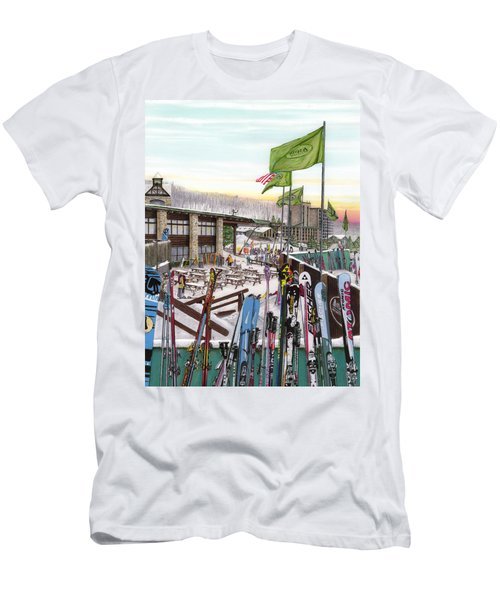 Seven Springs Mountain Resort Men's T-Shirt (Athletic Fit)