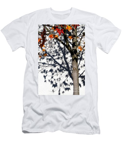 Shadows Of Fall Men's T-Shirt (Slim Fit) by CML Brown