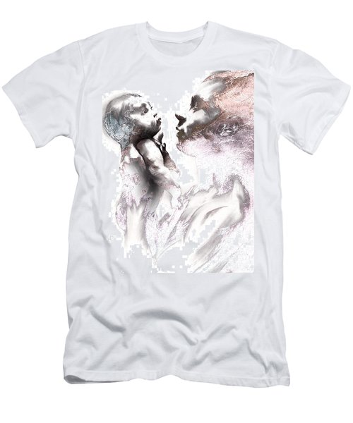 Shadowtwister Reflections Textured Men's T-Shirt (Slim Fit) by Paul Davenport