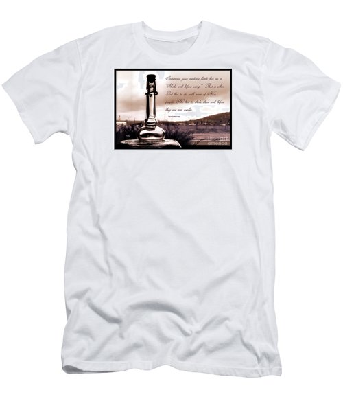 Men's T-Shirt (Athletic Fit) featuring the photograph Shake Well Before Using by Beauty For God
