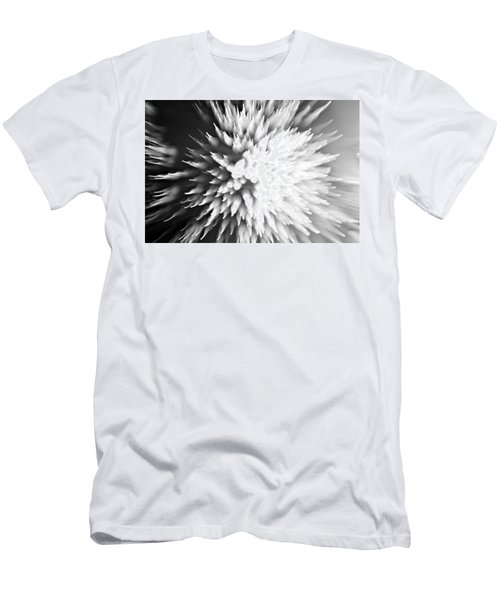 Men's T-Shirt (Slim Fit) featuring the photograph Shattered by Dazzle Zazz