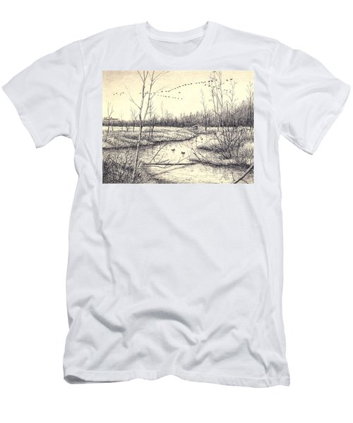 Shelby Swamps/ Men's T-Shirt (Athletic Fit)