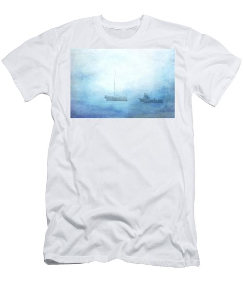 Ships In The Morning Haze  Men's T-Shirt (Athletic Fit)
