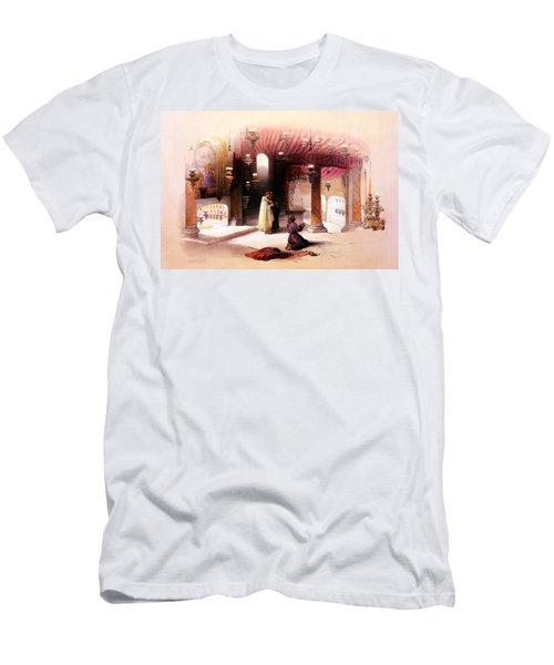 Shrine Of The Nativity Bethlehem April 6th 1839 Men's T-Shirt (Athletic Fit)