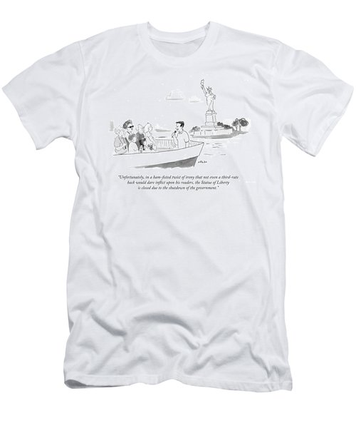 Shutdown Of Government Men's T-Shirt (Athletic Fit)