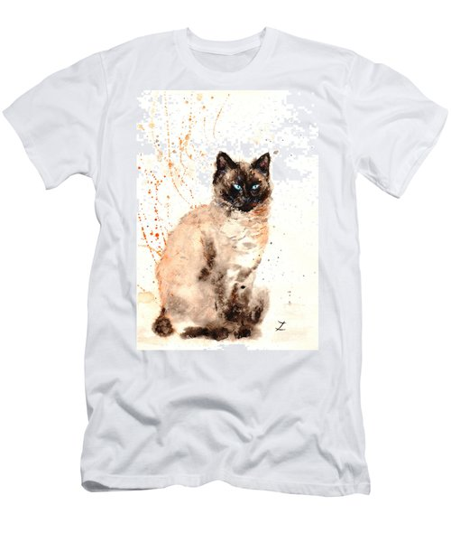Siamese Beauty Men's T-Shirt (Athletic Fit)