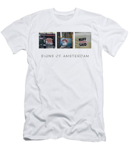 Signs Of Amsterdam Men's T-Shirt (Athletic Fit)