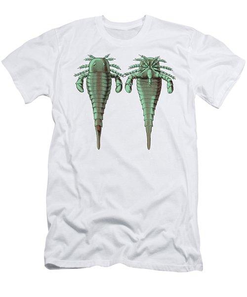 Silurian Eurypterid Men's T-Shirt (Athletic Fit)