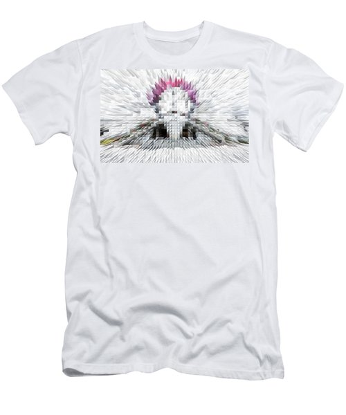 Silver Cotton Candy Men's T-Shirt (Athletic Fit)