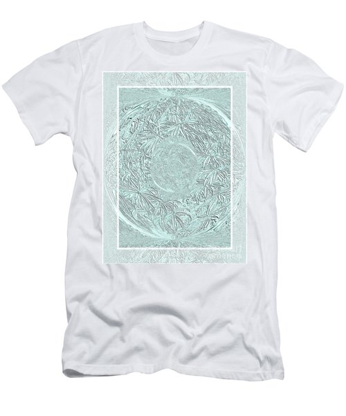 Men's T-Shirt (Slim Fit) featuring the photograph Silver Ring by Oksana Semenchenko