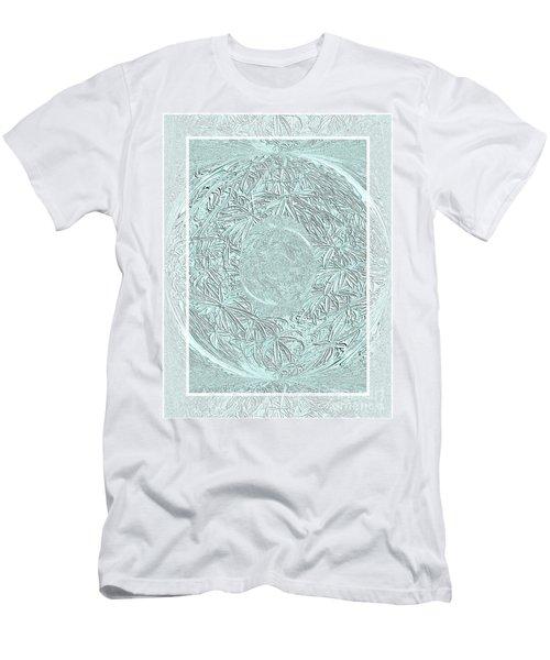 Silver Ring Men's T-Shirt (Slim Fit) by Oksana Semenchenko