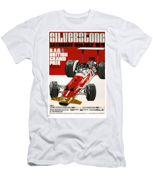 Silverstone Grand Prix 1969 Men's T-Shirt (Athletic Fit)