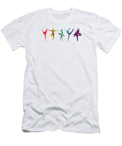 Simply Dancing 3 Men's T-Shirt (Athletic Fit)