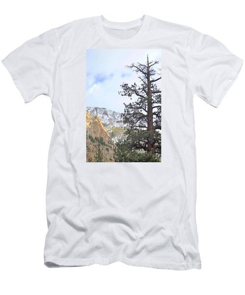 Men's T-Shirt (Slim Fit) featuring the photograph Simply by Marilyn Diaz