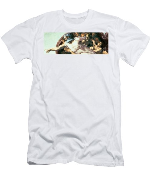Sistine Chapel Ceiling Creation Of Adam Men's T-Shirt (Athletic Fit)