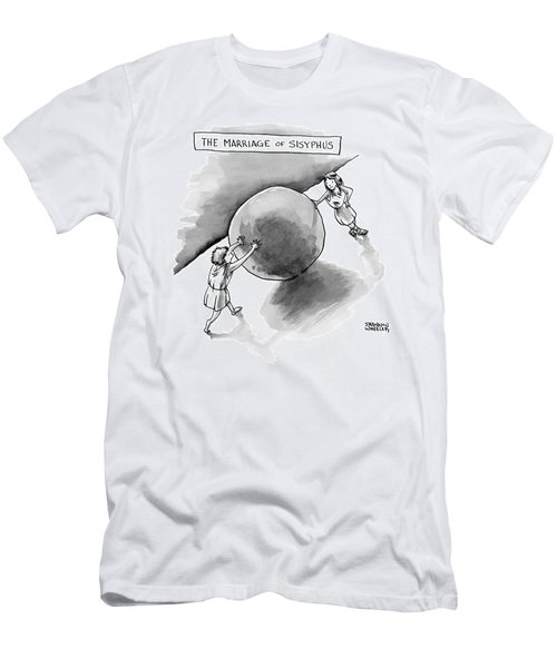The Marriage Of Sisyphus Men's T-Shirt (Athletic Fit)