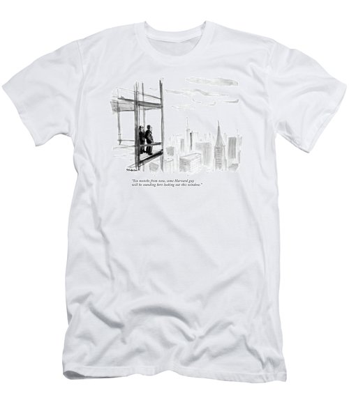 Six Months From Now Men's T-Shirt (Athletic Fit)