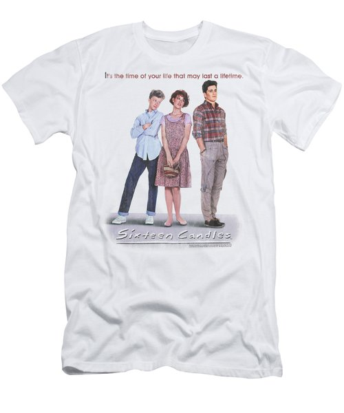 Sixteen Candles - Poster Men's T-Shirt (Athletic Fit)