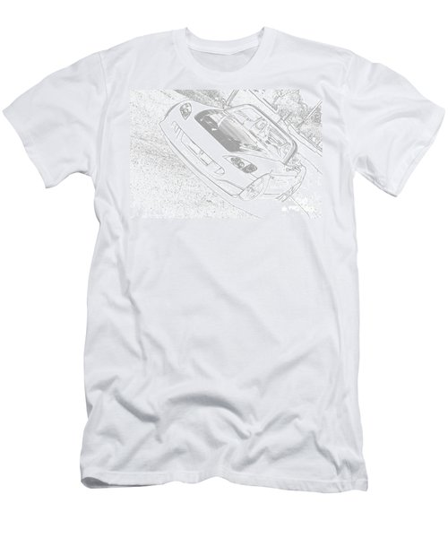 Sketched S2000 Men's T-Shirt (Athletic Fit)