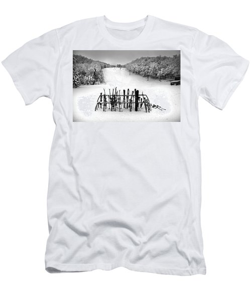 Ski Vermont At Middlebury Snow Bowl Men's T-Shirt (Athletic Fit)