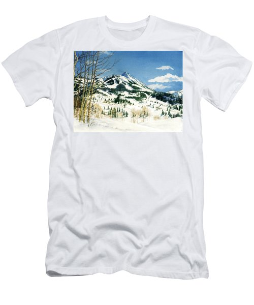 Skiers Paradise Men's T-Shirt (Athletic Fit)