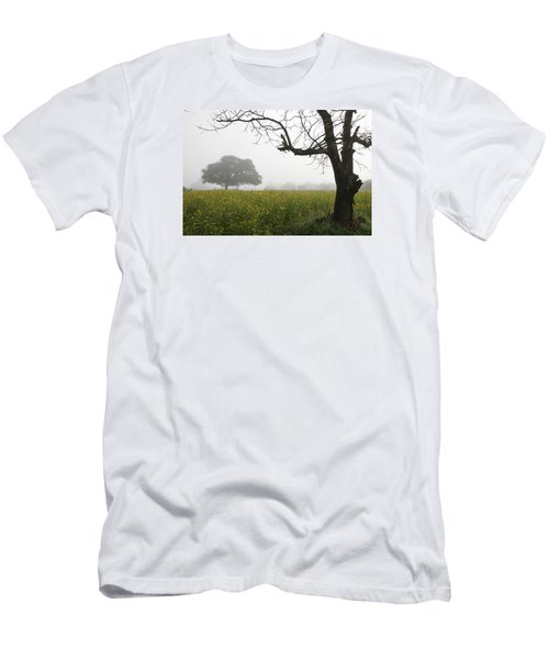 Men's T-Shirt (Slim Fit) featuring the photograph Skc 0060 Framed Tree by Sunil Kapadia
