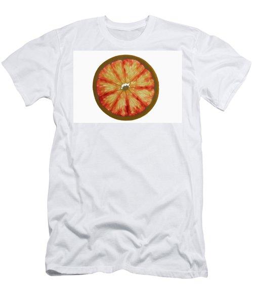 Slice Of Grapefruit, Backlit Men's T-Shirt (Athletic Fit)