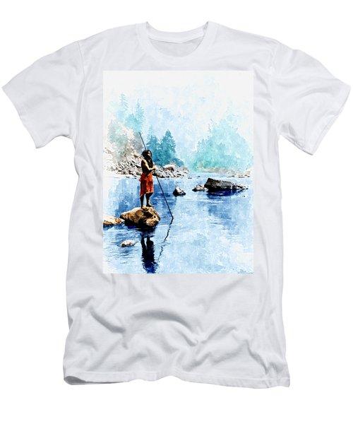 Smoky Day At The Sugar Bowl Men's T-Shirt (Athletic Fit)
