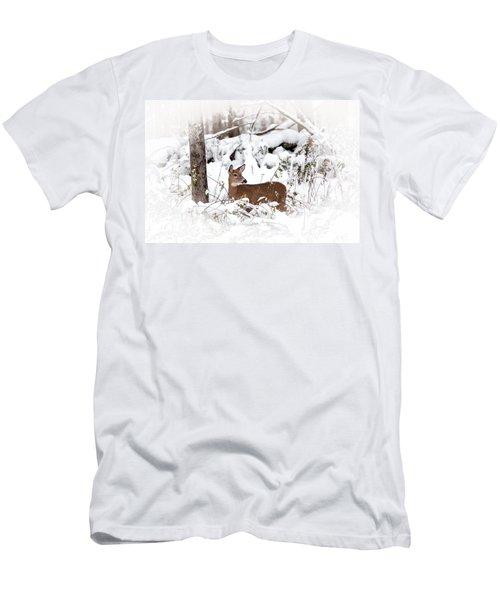 Snow Doe Men's T-Shirt (Athletic Fit)
