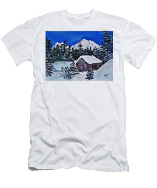 Snow Falling On Cedars Men's T-Shirt (Athletic Fit)