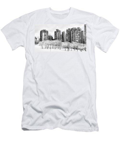 Snow In The City Men's T-Shirt (Athletic Fit)