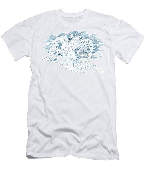 Ghost Cat Men's T-Shirt (Athletic Fit)