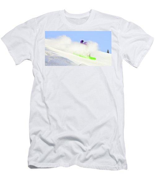 Snow Spray Men's T-Shirt (Athletic Fit)