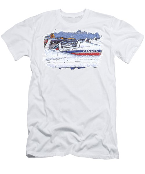 Snowbirds Men's T-Shirt (Athletic Fit)