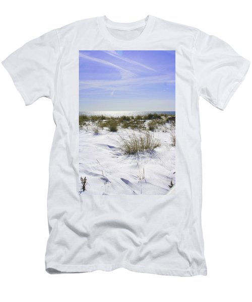 Snowy Dunes Men's T-Shirt (Athletic Fit)