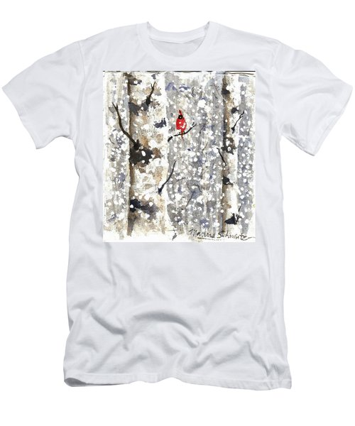 Snowy Hello Men's T-Shirt (Athletic Fit)