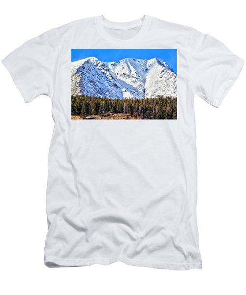 Snowy Ridge Men's T-Shirt (Athletic Fit)