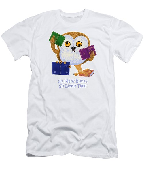 So Many Books So Little Time Men's T-Shirt (Athletic Fit)